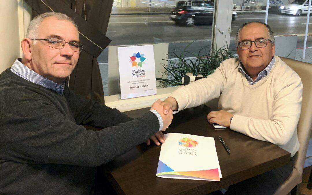 PUEBLOS MÁGICOS DE ESPAÑA Y CHILE ACUERDAN COLABORAR JUNTOS POR EL DESARROLLO ECONÓMICO Y SOCIAL.