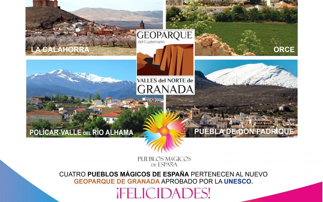 CUATRO PUEBLOS MÁGICOS DE ESPAÑA EN EL NUEVO GEOPARQUE DE GRANADA